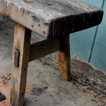 my favorite old workbench - Furniture