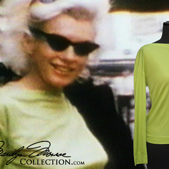 Marilyn Monroe's Personal Pucci Blouse - Womens Clothing
