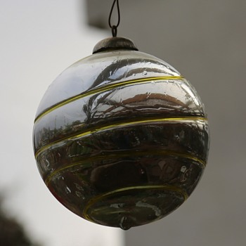 Very Large and Heavy Outdoor Christmas Ornaments - old ones