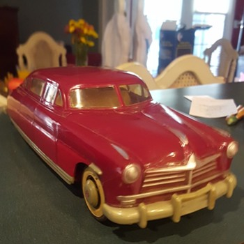 Neat Old Model Hudson Sedan - Model Cars