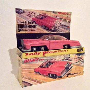 Dinky #100 Lady Penelope's FAB 1 - Model Cars