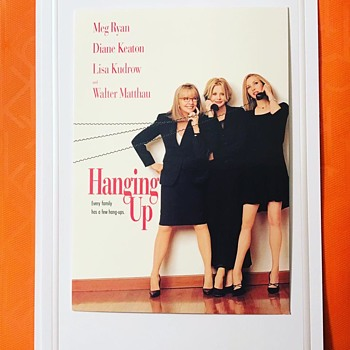 Hanging Up.... A Postcard Movie Ad  - Postcards