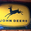 John Deere bubble sign