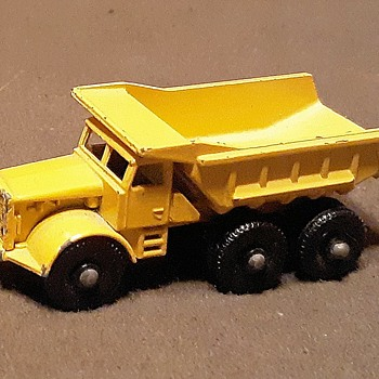 More Macho Moving Matchbox Monday MB-6 Euclid Quarry Truck 1964-1967 - Model Cars