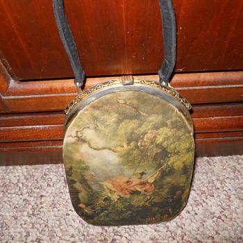 Hand painted Vintage purse?