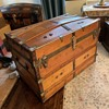 Exceptional Montreal Made Antique Trunk