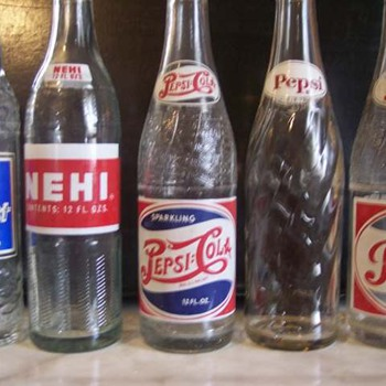 Pepsi Cola, Nehi and Suncrest Soda Bottles - Bottles