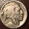1916 double feather buffalo nickel