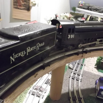 Gloss black Marx custom 391 and NPR tender rescued from a fire