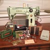 """Singer's 1956 319w2 Sewing Machine"""" Green Machine"""""""