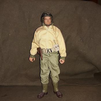 Ultimate Soldier Lieutenant  Now An M8 Scout Car Commander  - Toys