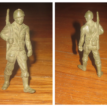 Clay? army soldier - Toys