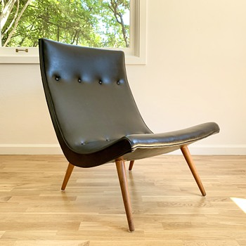 James Inc Scoop Lounge Chair (by Milo Baughman?) - Furniture