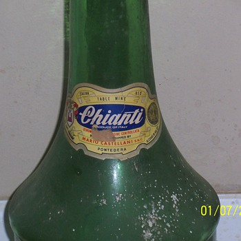 Italian wine bottle - Bottles