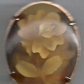 Rose (pendant/brooch/bolo pendant) - Fine Jewelry