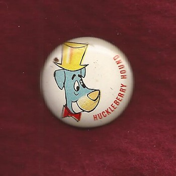 Early Hanna Barbera pinback