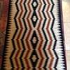 Navajo ? wool rug. What is this pattern called?