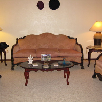 Couch and two chairs.  - Furniture
