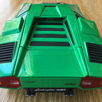Kyosho Lamborghini Countach LP400 Prototype, 1/18 scale - Model Cars