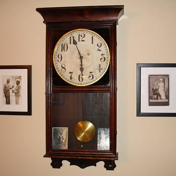1920-ish Gilbert Store Regulator Coca Cola Clock - Clocks