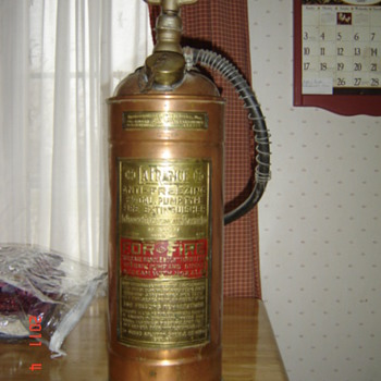 LaFrance Fire Extinguisher