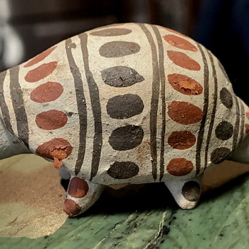 One last one - a bit larger and needed gluing... - Pottery