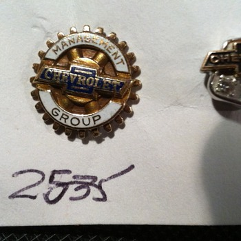 Chevrolet Pins - Medals Pins and Badges