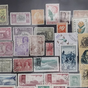 Collections that have died  ????? - Stamps
