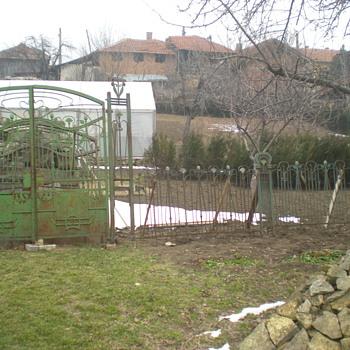 """""""One ton of Art Nouveau"""" Part Two (fence). - Art Nouveau"""