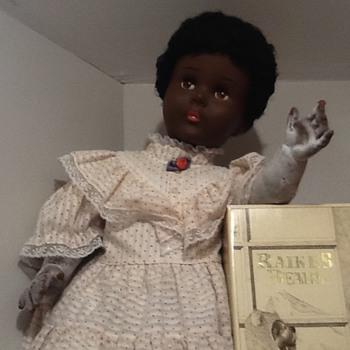 My 60 year old black walker doll