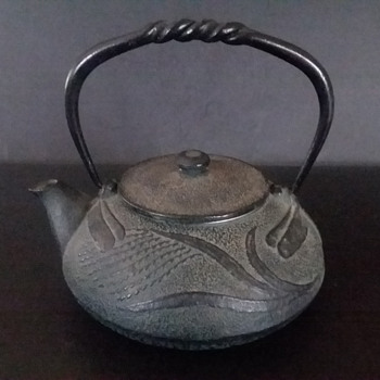 Second Oitomi tonbo (dragonfly) kyusu - Asian