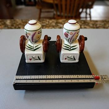 Coffee Grinder? Salt & Pepper Shakers - Kitchen
