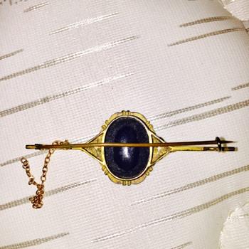 Vintage Opal Brooch