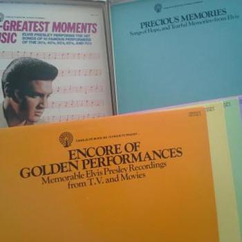 The Legindary Recordings of Elvis Presley,from Canlelite Music Inc... - Music Memorabilia