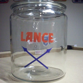 Lance 75th anny jar - Advertising