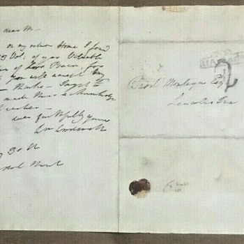 Signed/Autographed Letter/Note from William Wordsworth (1770-1850) to Basil Montagu (1770-1851) Dated May 30, 1831 - Paper