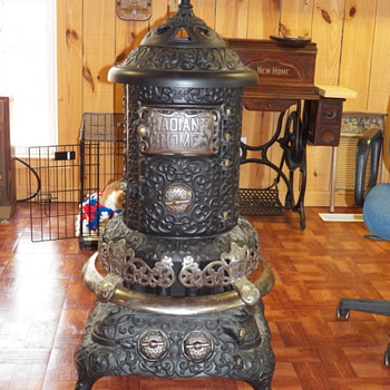 I HAVE JUST BOUGHT A RADIANT HOME 214 PARLOR STOVE.  IT IS PARTLY RESOTRED & IN GOOD CONDITION.  WOULD LIKE TO KNOW MORE ABOUT  - Kitchen