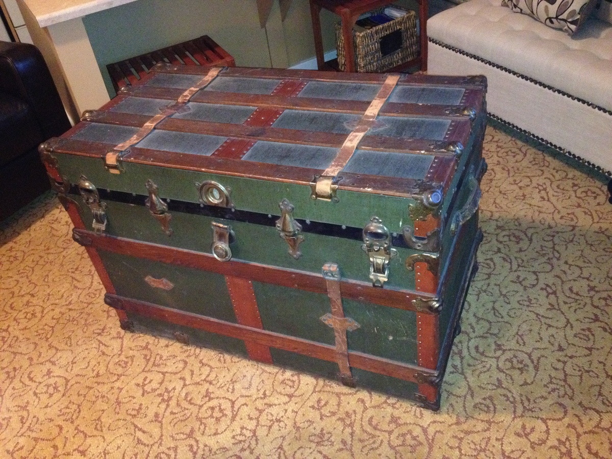 Eagle Lock Co Trunk Collectors Weekly