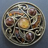Miracle Sol D'or Celtic Brooch