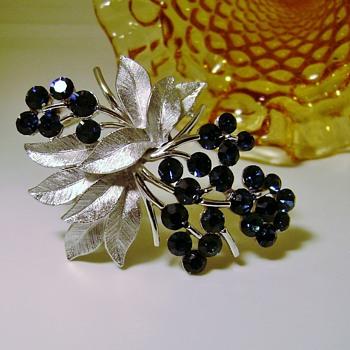 Crown Trifari Pin - Costume Jewelry