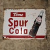 Mexican Canada Dry Spur Cola Sign 1950s