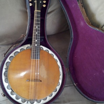 RARE!! Vega Mandolin Banjo 1920's