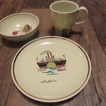 Russel Wright Children's Set? - China and Dinnerware