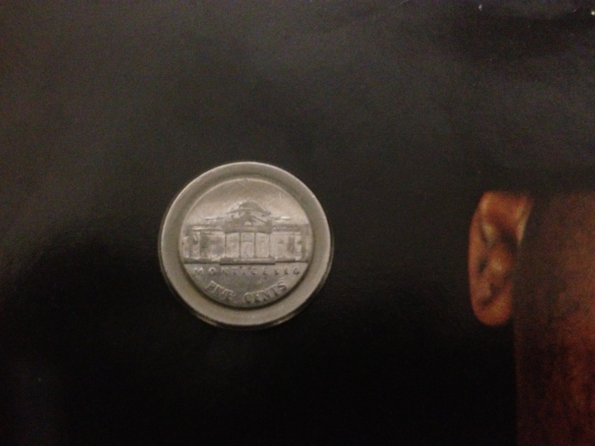 2001 p Jefferson nickel error | Collectors Weekly