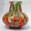 """Czech art glass - Kralik """"Bambus"""" vase"""