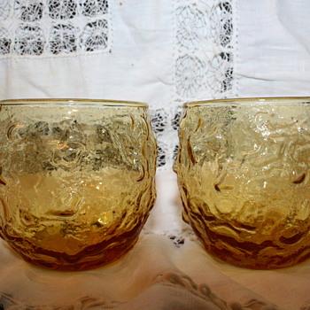Amber color glasses  - Glassware