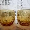 Amber color glasses