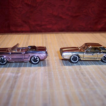 Aurora Mustang and Cougar - Model Cars