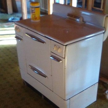 Sears, Roebuck, and CO Gas Range (40's-50's)
