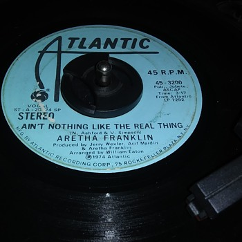 THE QUEEN OF SOUL..MISS ARETHA FRANKLIN - Records
